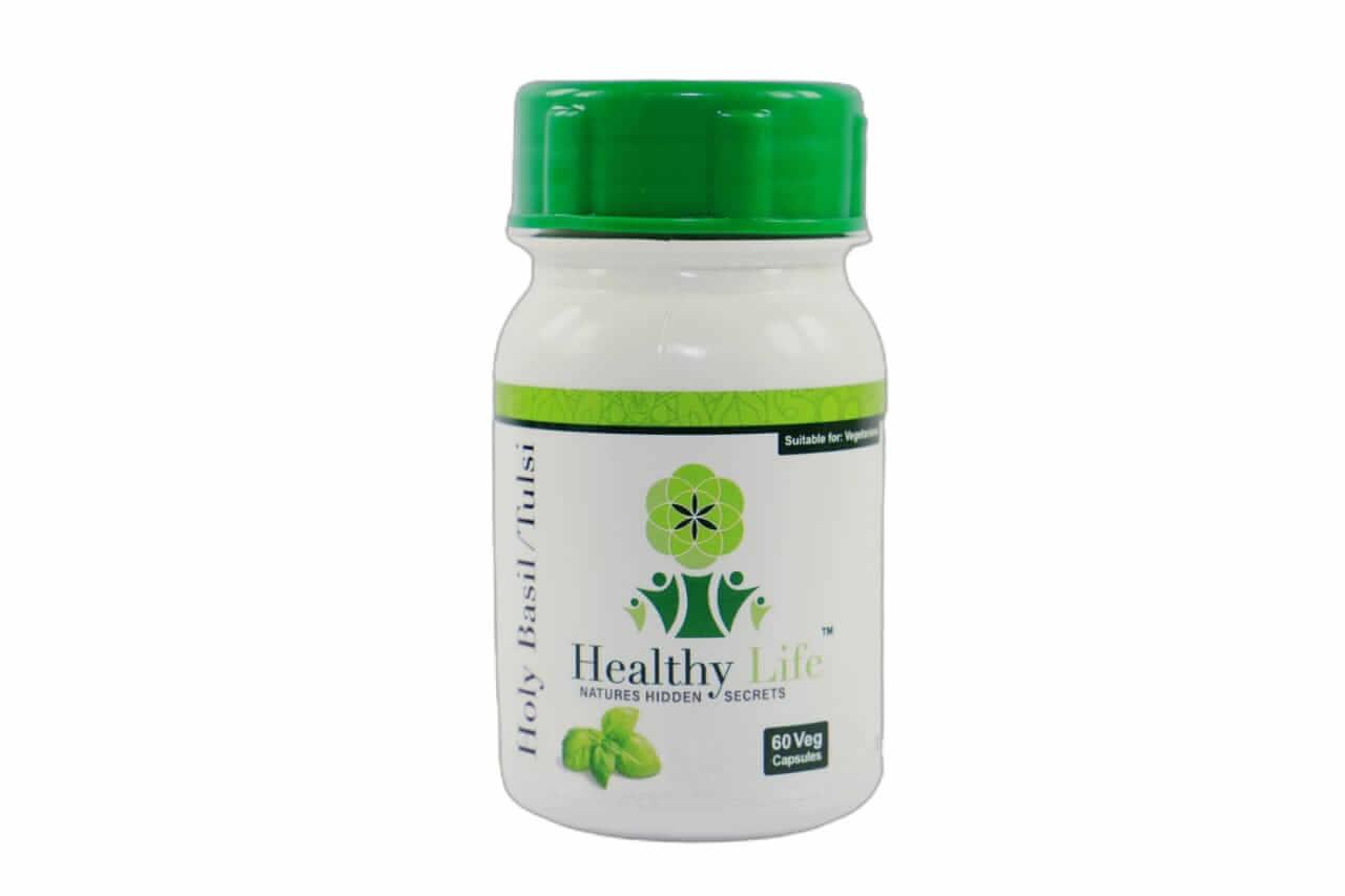 Healthy Life Holy Basil/Tulsi Capsules – 60's