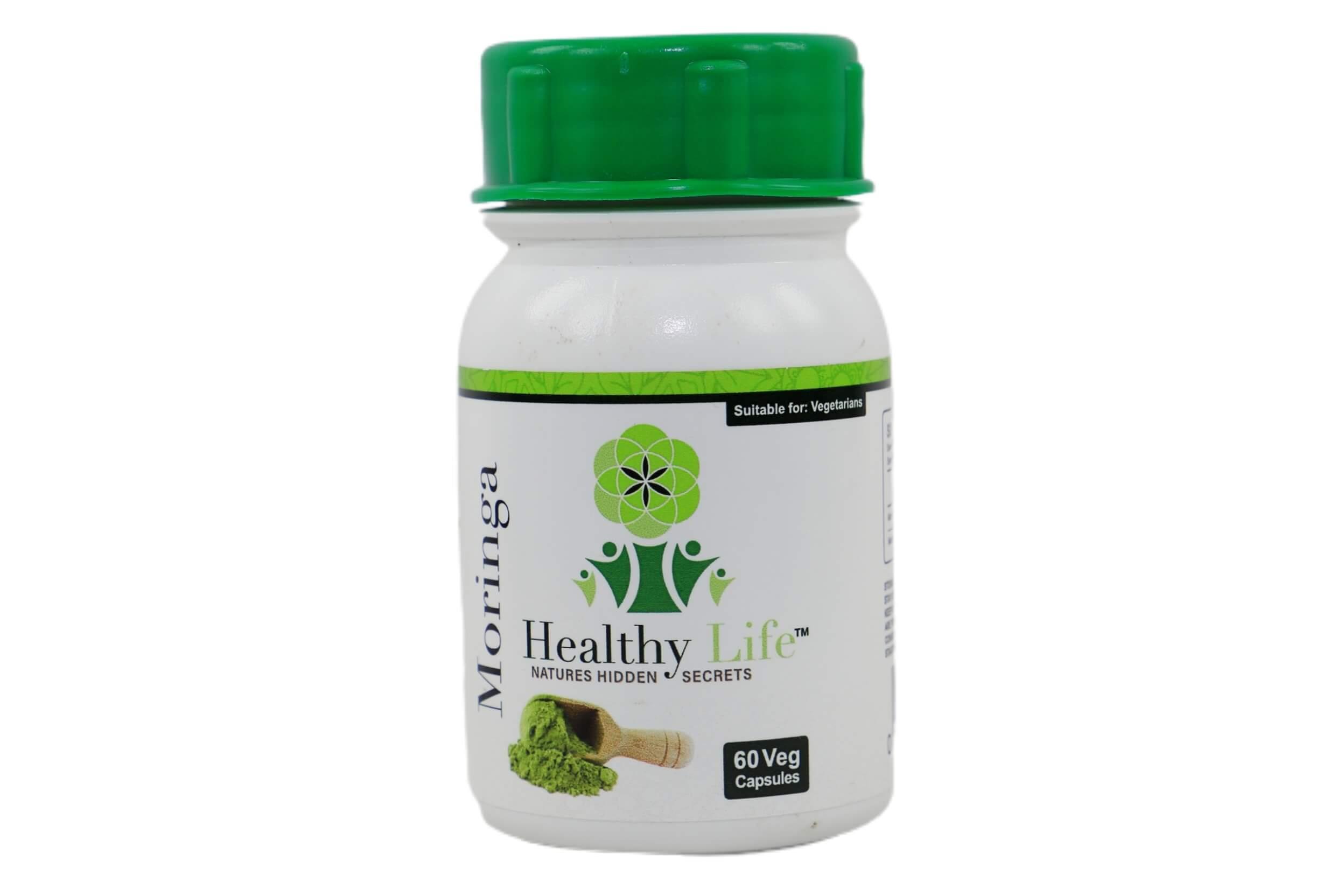 Healthy Life Moringa Capsules – 60's