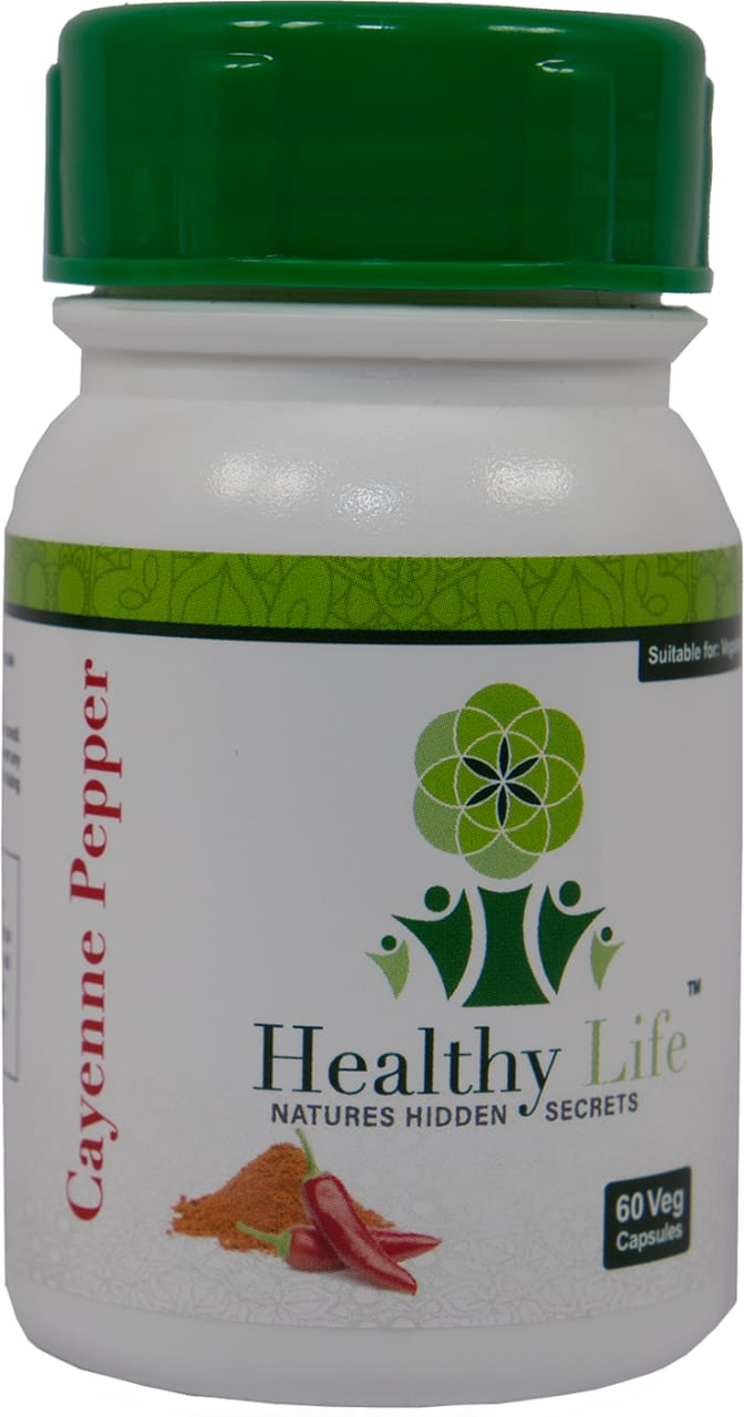 Healthy Life – Cayenne Pepper Capsules – 60s