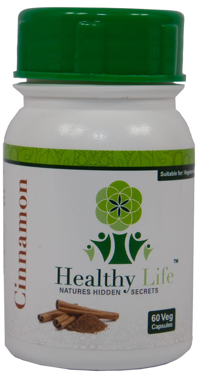 Healthy Life – Cinnamon Capsules – 60s