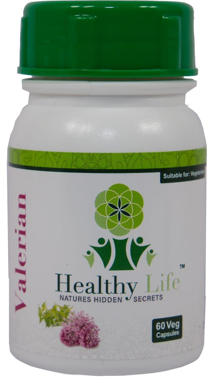 Healthy Life – Valerian Capsules – 60s